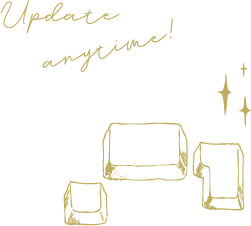 Update anytime!